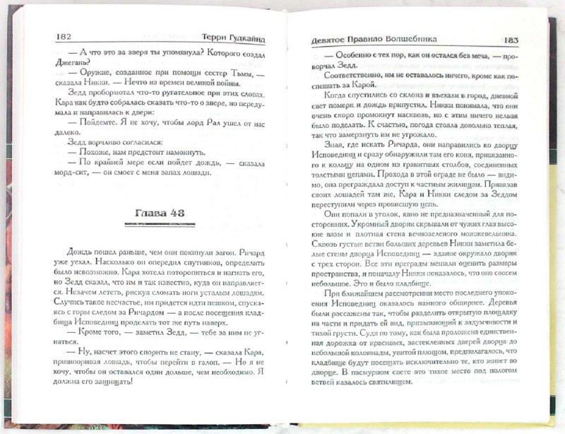 Иллюстрация 1 из 11 для Девятое Правило Волшебника, или Огненная цепь. Книга 2 - Терри Гудкайнд | Лабиринт - книги. Источник: Лабиринт