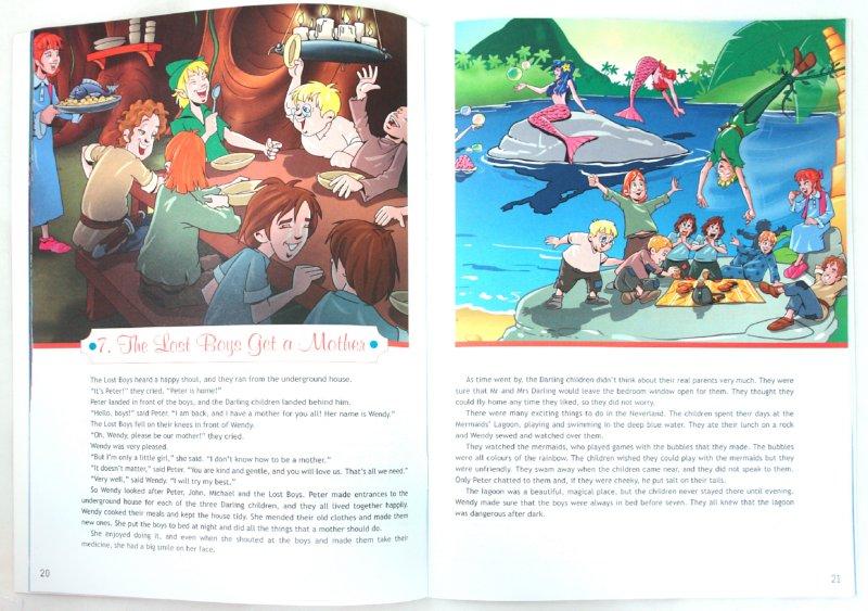 Иллюстрация 1 из 63 для Английский в фокусе. Питер Пэн (по Д. Барри). Книга для чтения. 7 класс - Джеймс Барри | Лабиринт - книги. Источник: Лабиринт