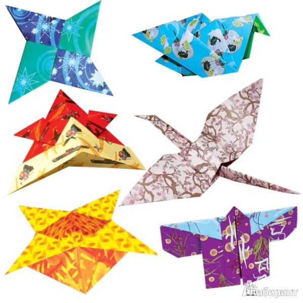 Иллюстрация 1 из 4 для Японское оригами (АБ 11-421) | Лабиринт - игрушки. Источник: Лабиринт