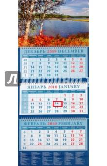 """Календарь 2010 """"Пейзаж с березами"""" (14936)"""