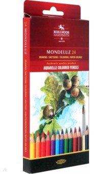 "Карандаши, 24 цвета ""Натюрморт, акварель"" (3718)"