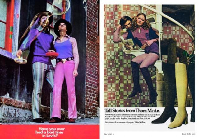 ����������� 1 �� 5 ��� 70s Fashion: Vintage Fashion and Beauty ADS | �������� - �����. ��������: ��������