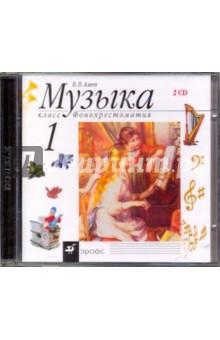 Музыка. 1 класс. Фонохрестоматия (2CD)