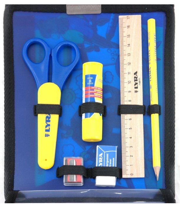 Иллюстрация 1 из 2 для Дорожный набор/пенал пластиковый с наполнением (2524131) | Лабиринт - канцтовы. Источник: Лабиринт