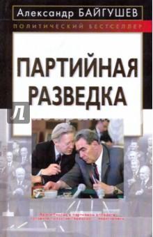 Байгушев Александр Иннокентьевич Партийная разведка