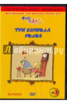 Три периода родов. Видеопособие для молодых родителей №3 (DVD)