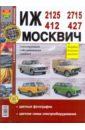 Иж 2125, -2715, -412, -427 Москвич 412, -427