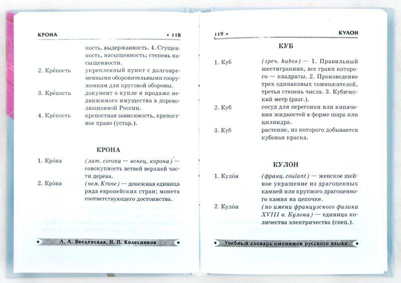 Словарь омонимов русского языка ахмановой онлайн