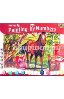 """Набор для раскрашивания красками """"Конь"""" (PL/64)"""