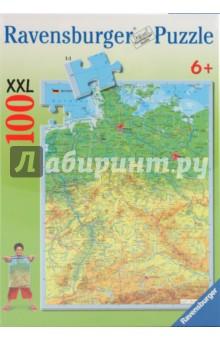 Пазл-100. Карта Германии (107742)
