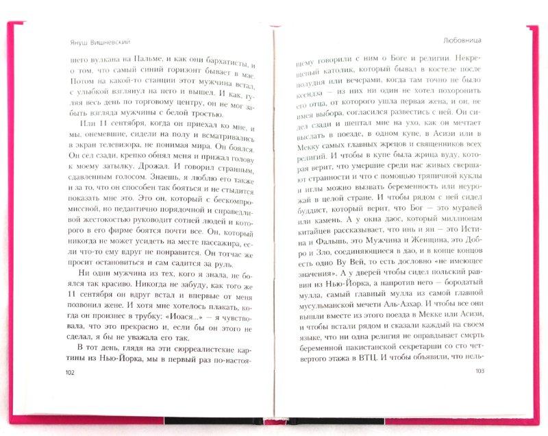 Иллюстрация 1 из 8 для Любовница - Януш Вишневский   Лабиринт - книги. Источник: Лабиринт