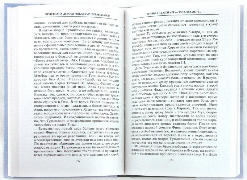 Иллюстрация 1 из 23 для Тутанхамон Сын Осириса - Кристиана Дерош-Ноблькур   Лабиринт - книги. Источник: Лабиринт