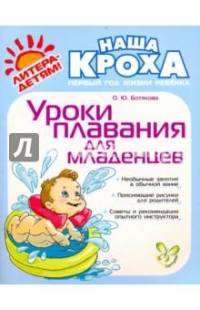 Ботякова Ольга Юрьевна Уроки плавания для младенцев