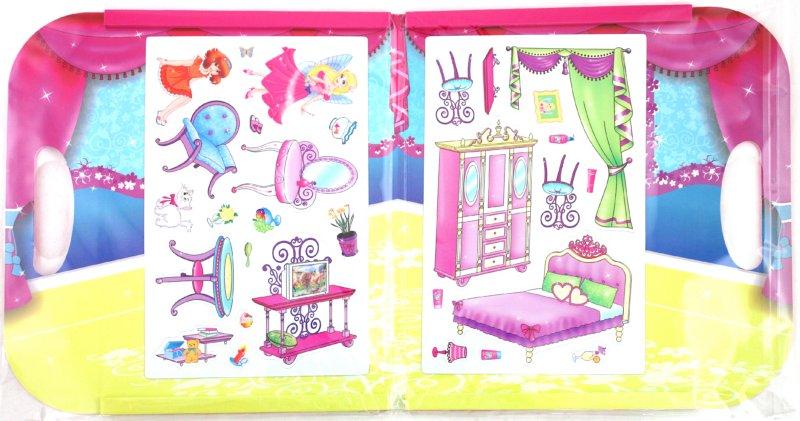 Иллюстрация 1 из 3 для Магнитная игра: Домик Маленькой Феи | Лабиринт - игрушки. Источник: Лабиринт