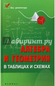 Алгебра и геометрия в таблицах и схемах