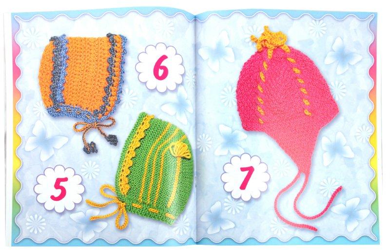 Описание: Вяжем чепчики, шапочки, капоры :: Шитье.
