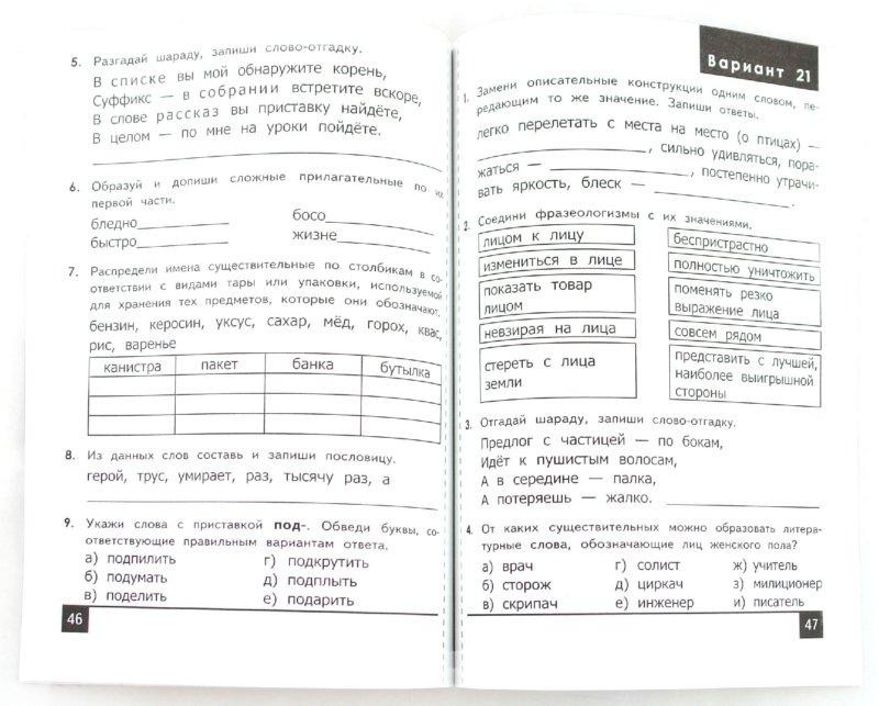 Олимпиады по русскому языку 5 6 классы