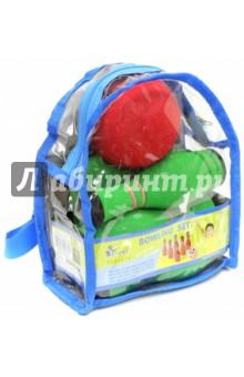 Мини-Боулинг 6 кеглей, в сумке (МВВ-05(В)) SafSof