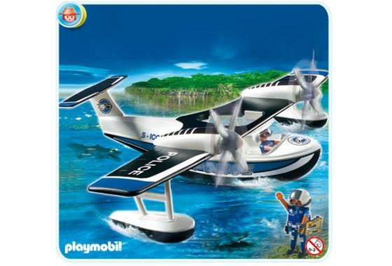 Иллюстрация 1 из 7 для Гидросамолет полиции (4445)   Лабиринт - игрушки. Источник: Лабиринт