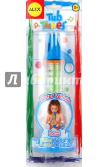 Игрушка для ванны Водяная дудочка (4008)Игрушки для ванной<br>Игрушка для ванны Водяная дудочка.<br>Оригинальный музыкальный инструмент - водяная дудочка, для игры в ванной. Настройте ее с водой, для того, чтобы извлекать приятные звуки и разыгрывать мелодии. <br>Для детей от 3-х лет.<br>Материал: пластмасса.<br>Упаковка: блистер.<br>Сделано в Китае.<br>