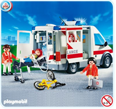 Иллюстрация 1 из 3 для Карета скорой помощи (4221) | Лабиринт - игрушки. Источник: Лабиринт
