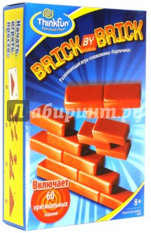 Кирпичики Brick by brick (5901) Thinkfun
