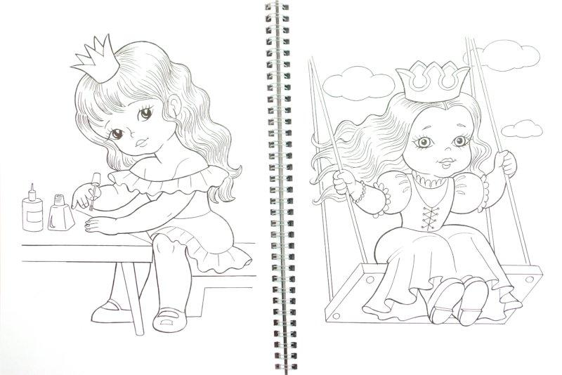 Раскраска для девочек фото