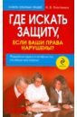 Пластинина Наталия Вячеславовна Где искать защиту, если ваши права нарушены?