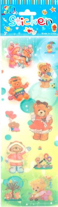 Иллюстрация 1 из 11 для Наклейки детские. Hemeleon Sticker | Лабиринт - игрушки. Источник: Лабиринт