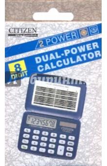 Калькулятор карманный CITIZEN 8-разрядный (FS-80NAII)