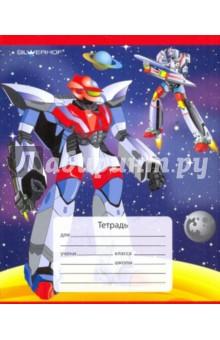 Тетрадь 12л клетка 721058-15 Transformers