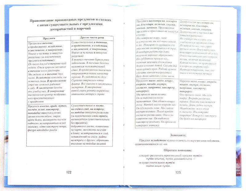 По русскому языку 3 класс в таблицах