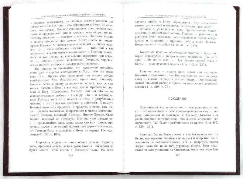 Иллюстрация 1 из 9 для Душеполезные поучения святителя Феофана Затворника | Лабиринт - книги. Источник: Лабиринт