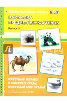 Нищева Наталия Валентиновна Картотека предметных картинок: Животные жарких и северных стран, животный мир океана