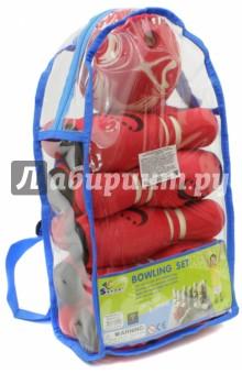 Мини-боулинг 10 кеглей в сумке (JBB-01-1) SafSof