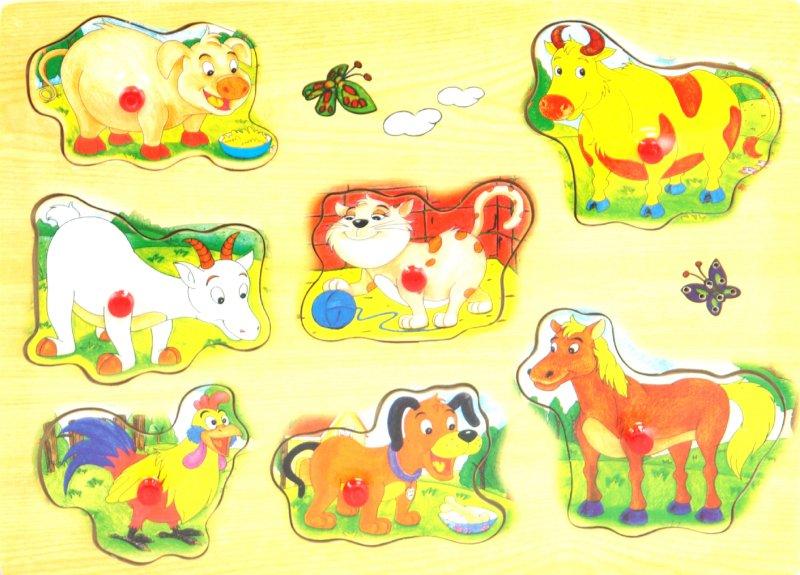 Иллюстрация 1 из 4 для Рамка вкладыши (музыкальная) (М4097А) | Лабиринт - игрушки. Источник: Лабиринт