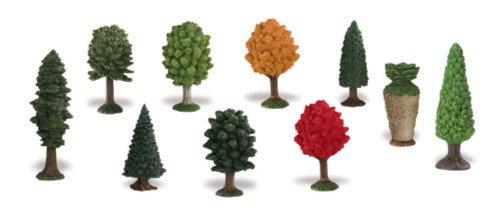 Иллюстрация 1 из 5 для Деревья, 10 фигурок (684304) | Лабиринт - игрушки. Источник: Лабиринт