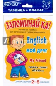 Английский. Мой друг. Для учащихся 2-5 классов