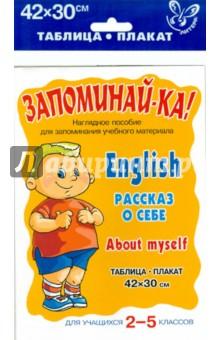 Английский. Рассказ о себе. Для учащихся 2-5 классов
