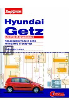 Электрооборудование Hyundai Getz обложка книги.