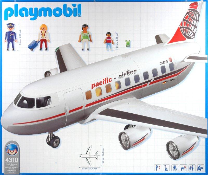 Иллюстрация 1 из 14 для Реактивный авиалайнер (4310) | Лабиринт - игрушки. Источник: Лабиринт