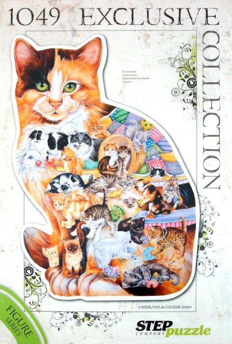 """Иллюстрация 1 из 33 для Контур-пазл """"Кошка"""" (83502)   Лабиринт - игрушки. Источник: Лабиринт"""