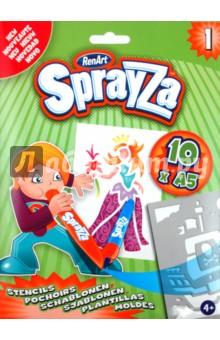 Набор шаблонов Sprayza 1 (ST2201)