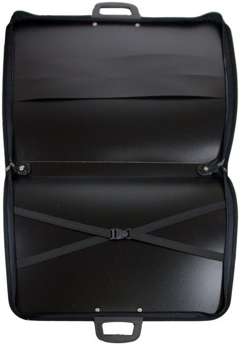 Иллюстрации Папка-портфель для художников А3 пластиковая черная (4040104)