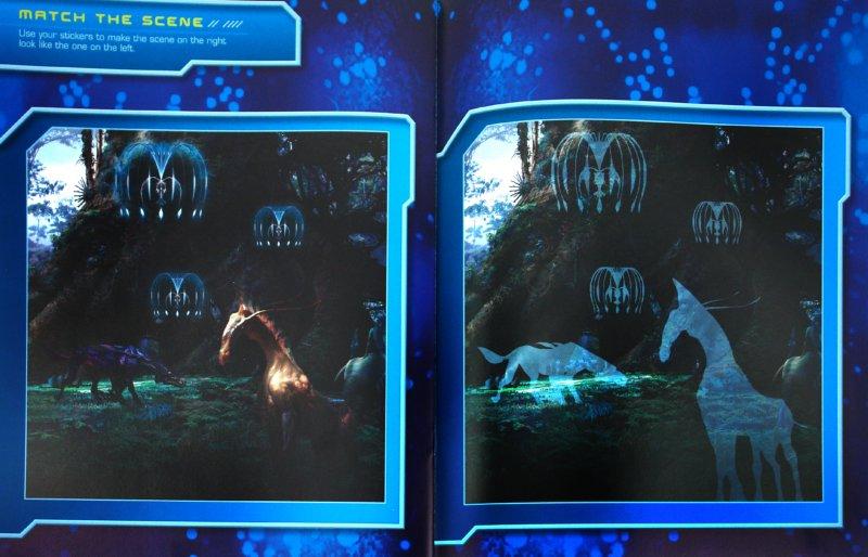 Иллюстрация 1 из 3 для James Cameron's Avatar: The Reusable Sticker Book - Lucy Rosen | Лабиринт - книги. Источник: Лабиринт