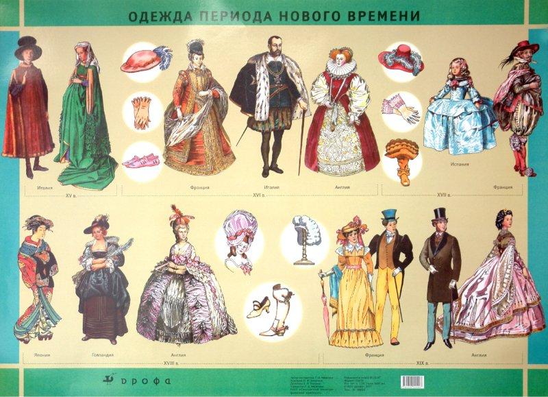 Одежда в разные времена картинки
