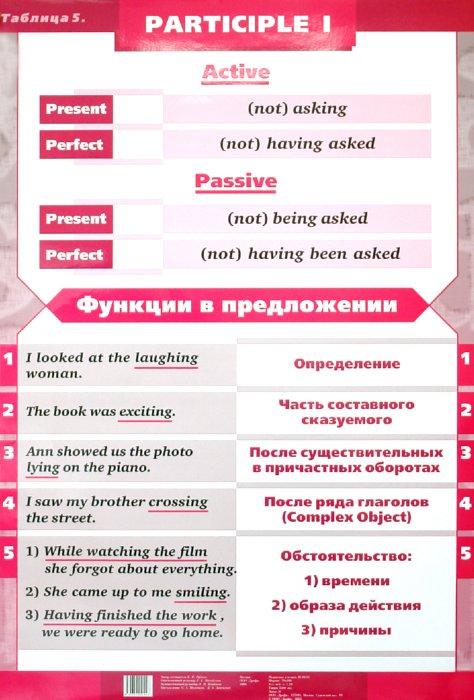 Иллюстрация 1 из 2 для Таблица №5 Participle 1 / Таблица №6 Participle 2 - Елена Рубина | Лабиринт - книги. Источник: Лабиринт