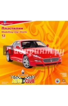 Пластилин 12 цветов Auto Club (951145-26)
