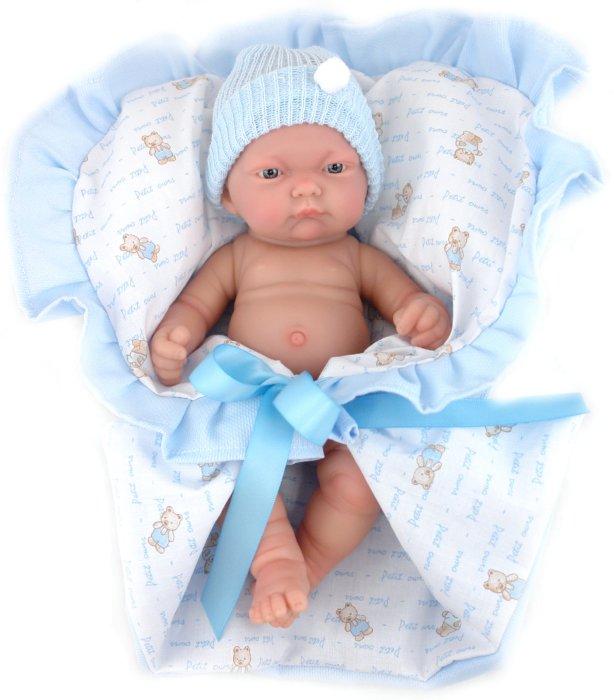 Иллюстрация 1 из 10 для Кукла-младенец (мальчик) Лео в голубом, (26см) (4450M) | Лабиринт - игрушки. Источник: Лабиринт