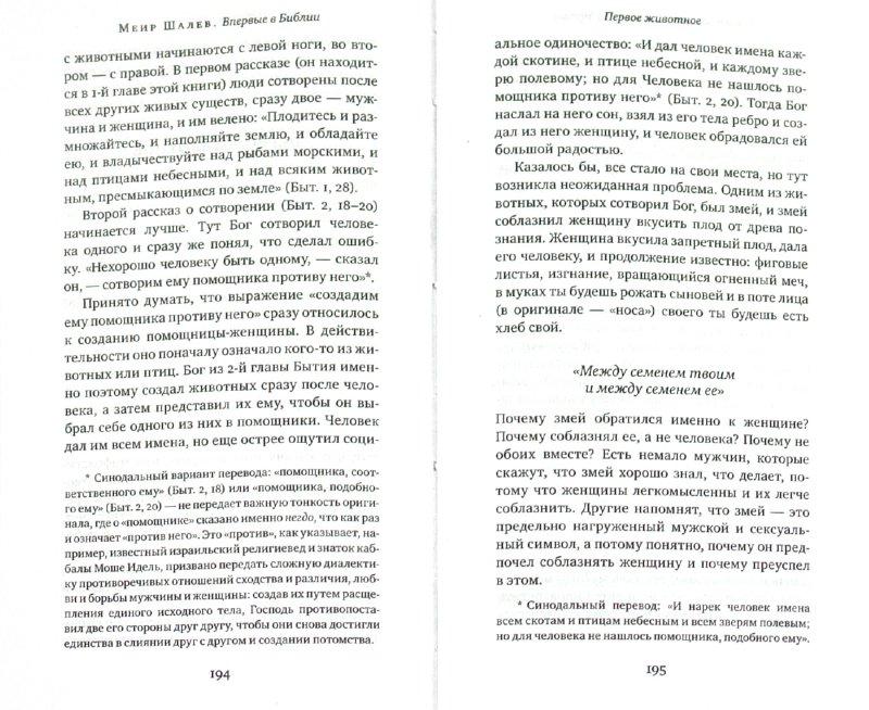Иллюстрация 1 из 3 для Впервые в Библии - Меир Шалев | Лабиринт - книги. Источник: Лабиринт